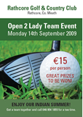 Rathcore Golf Club Flyer